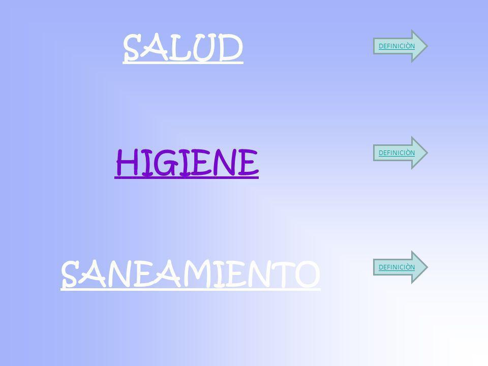 SALUD HIGIENE SANEAMIENTO