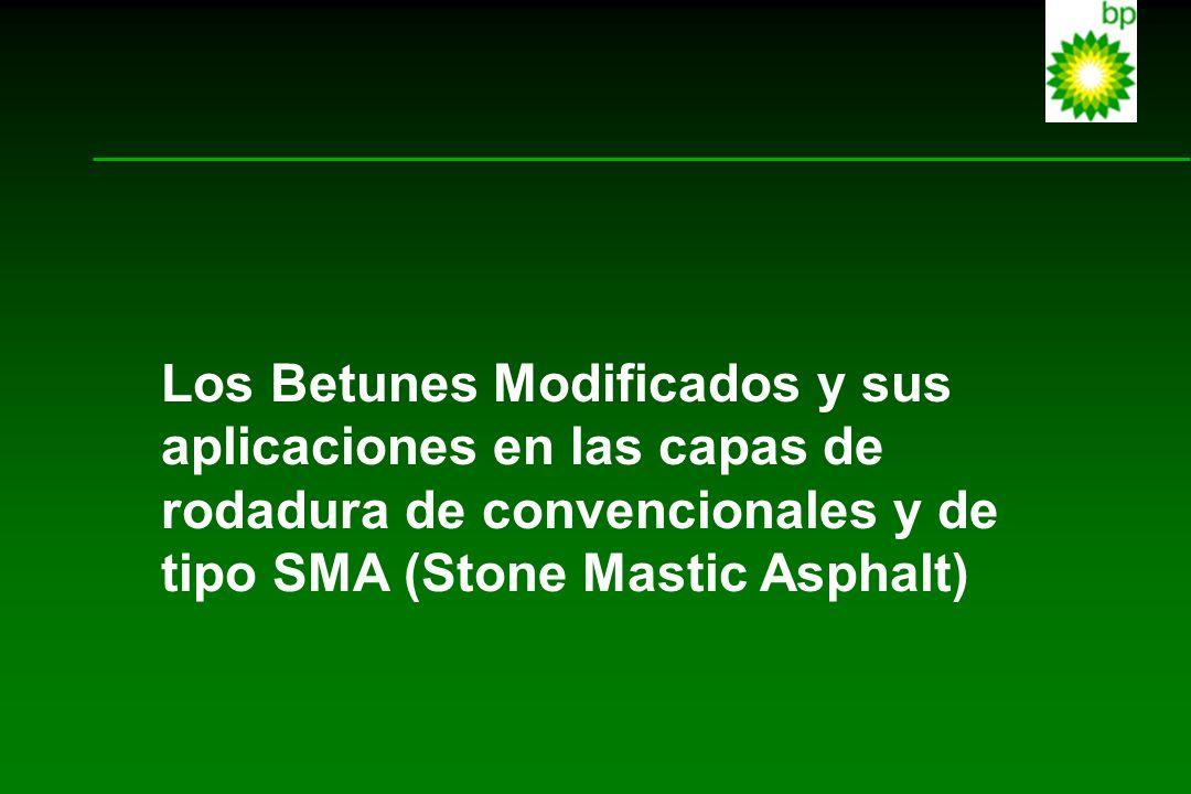 Los Betunes Modificados y sus aplicaciones en las capas de rodadura de convencionales y de tipo SMA (Stone Mastic Asphalt)