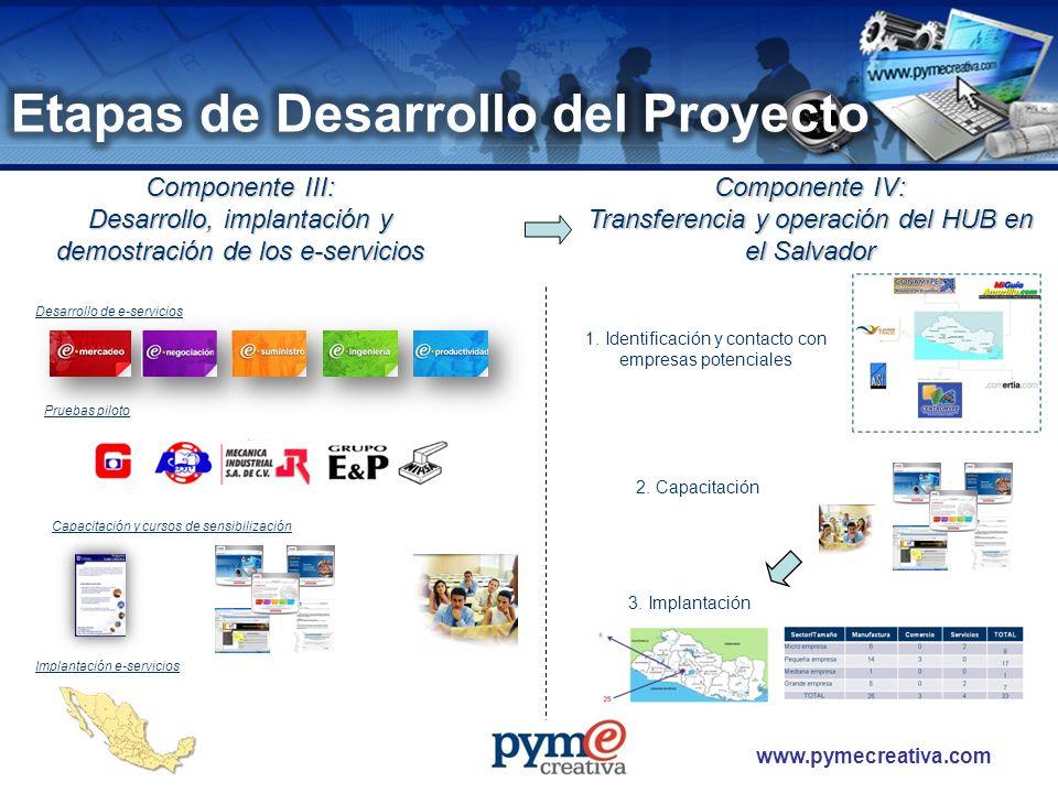 Etapas de Desarrollo del Proyecto