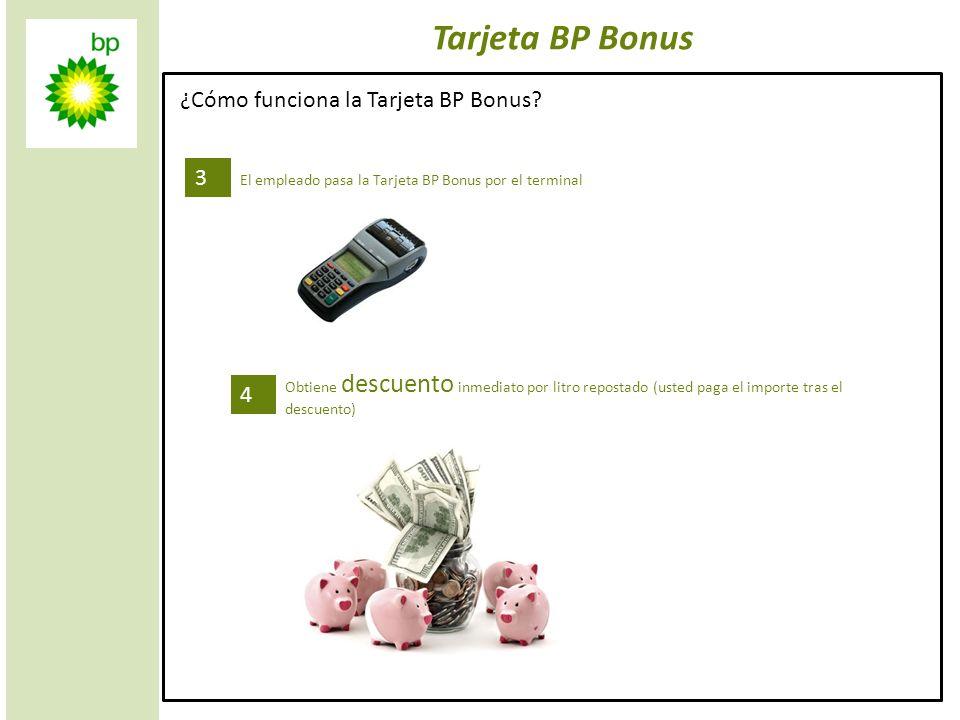 Tarjeta BP Bonus ¿Cómo funciona la Tarjeta BP Bonus 3 4