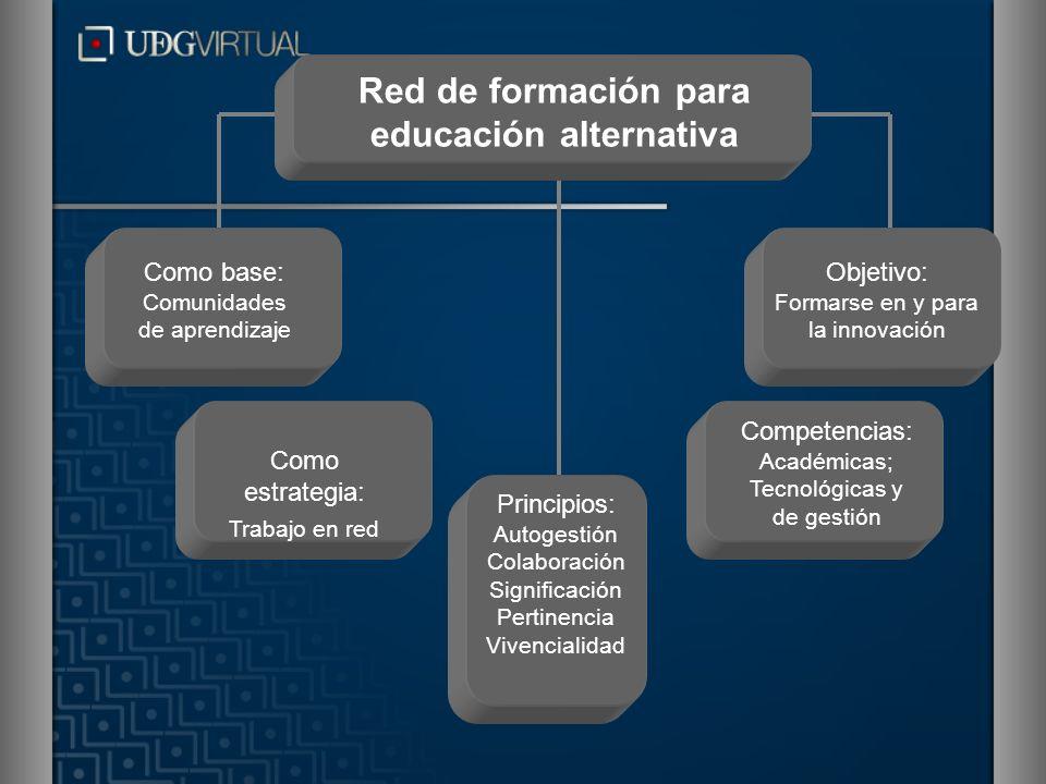 Red de formación para educación alternativa