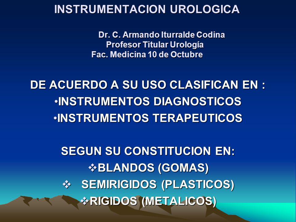 DE ACUERDO A SU USO CLASIFICAN EN : INSTRUMENTOS DIAGNOSTICOS