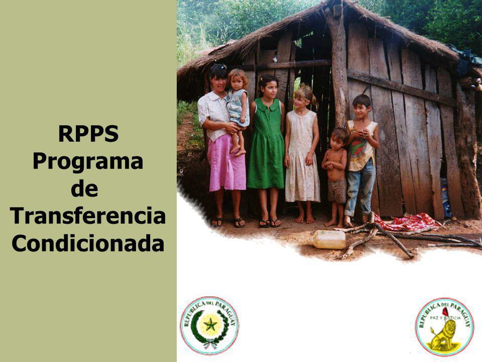 RPPS Programa de Transferencia Condicionada