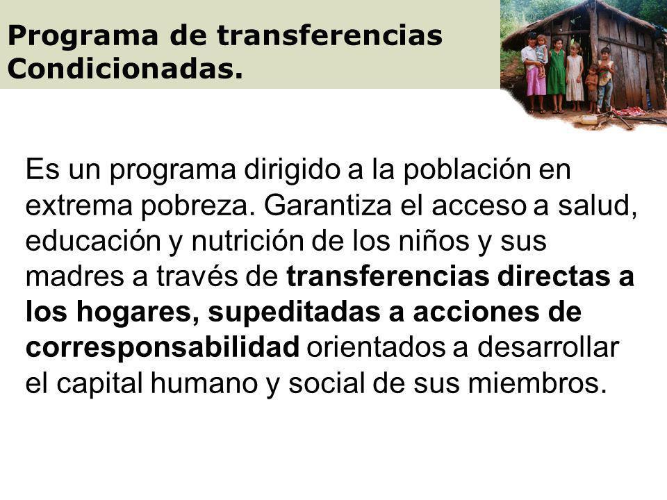 Programa de transferencias