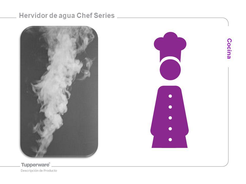 Hervidor de agua Chef Series