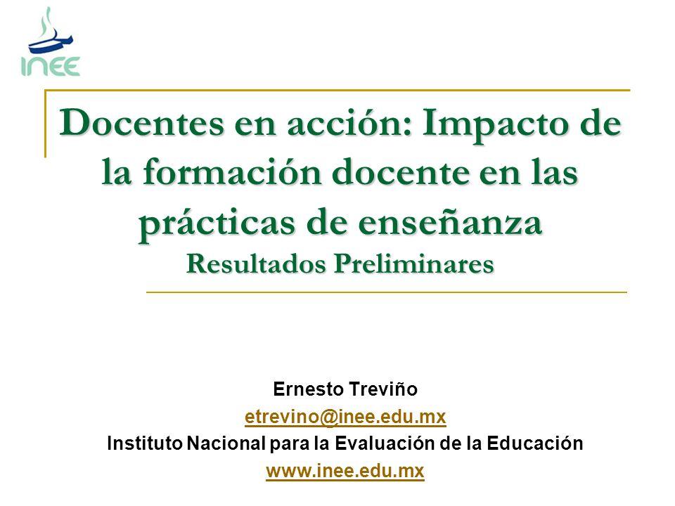 Instituto Nacional para la Evaluación de la Educación
