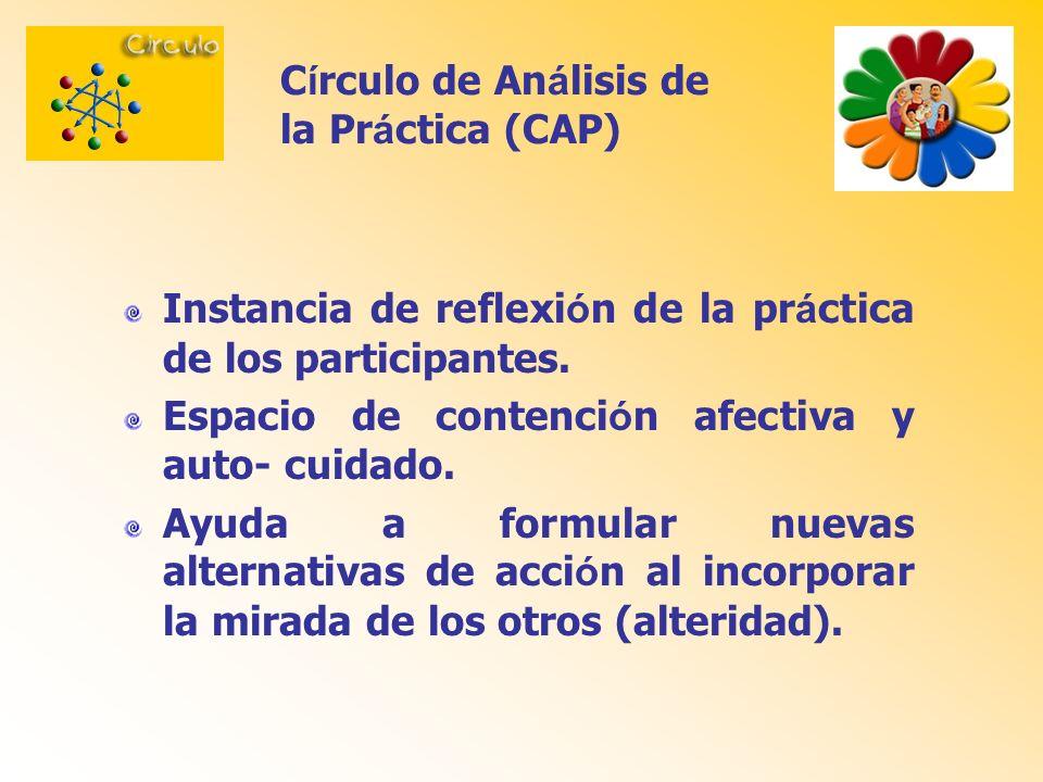 Círculo de Análisis de la Práctica (CAP)