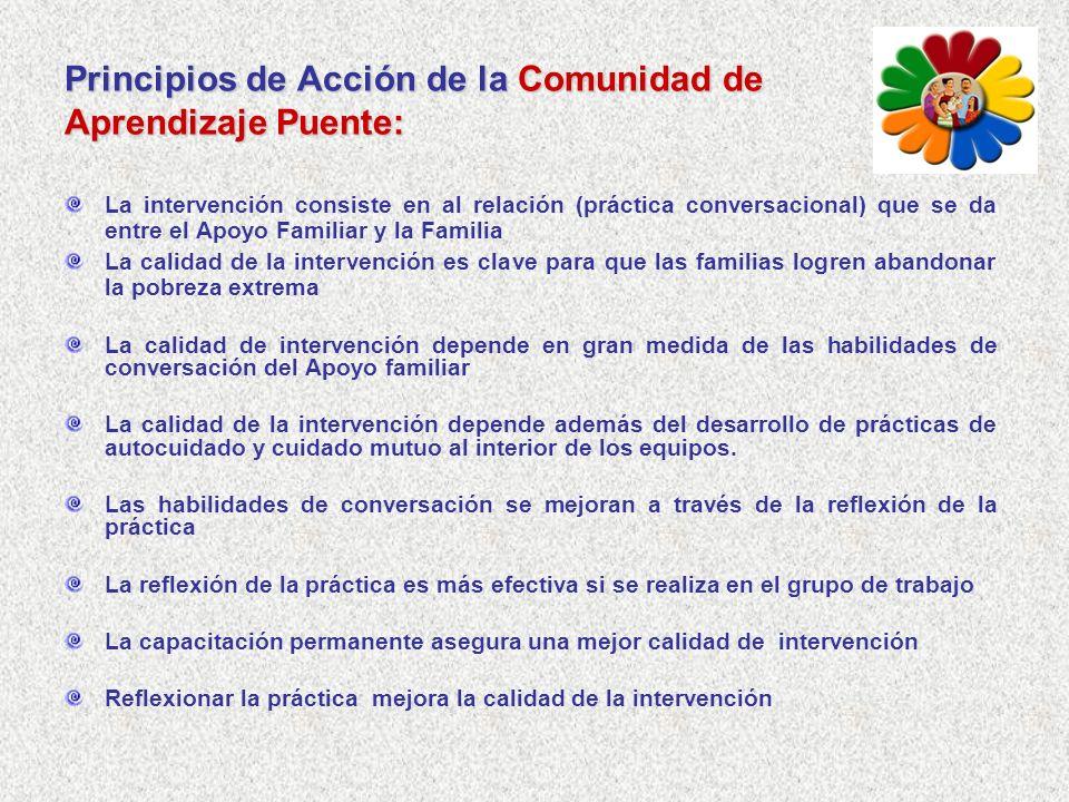 Principios de Acción de la Comunidad de Aprendizaje Puente: