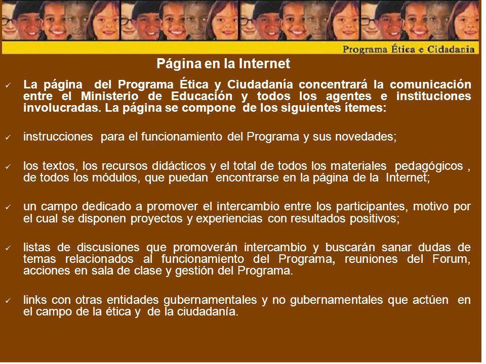 Página en la Internet