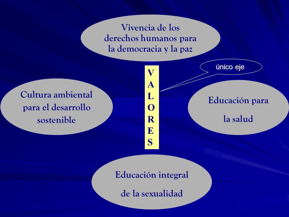 Vivencia de los derechos humanos para la democracia y la paz