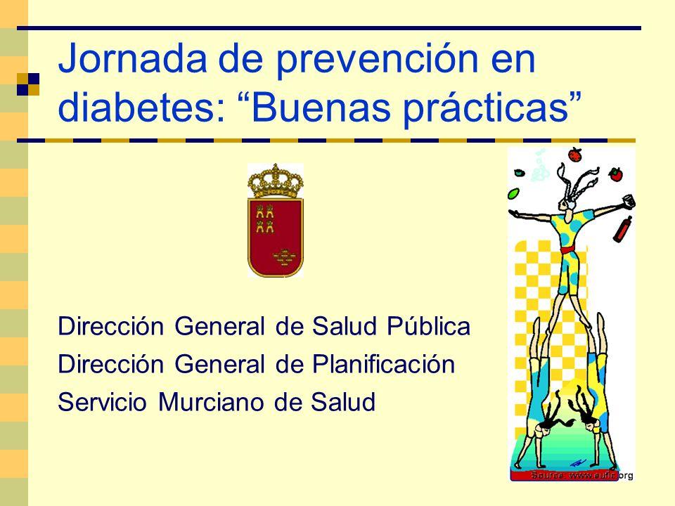 Jornada de prevención en diabetes: Buenas prácticas