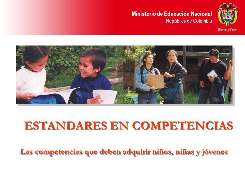 Las competencias que deben adquirir niños, niñas y jóvenes