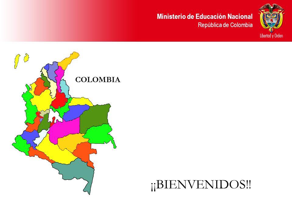 COLOMBIA ¡¡BIENVENIDOS!!