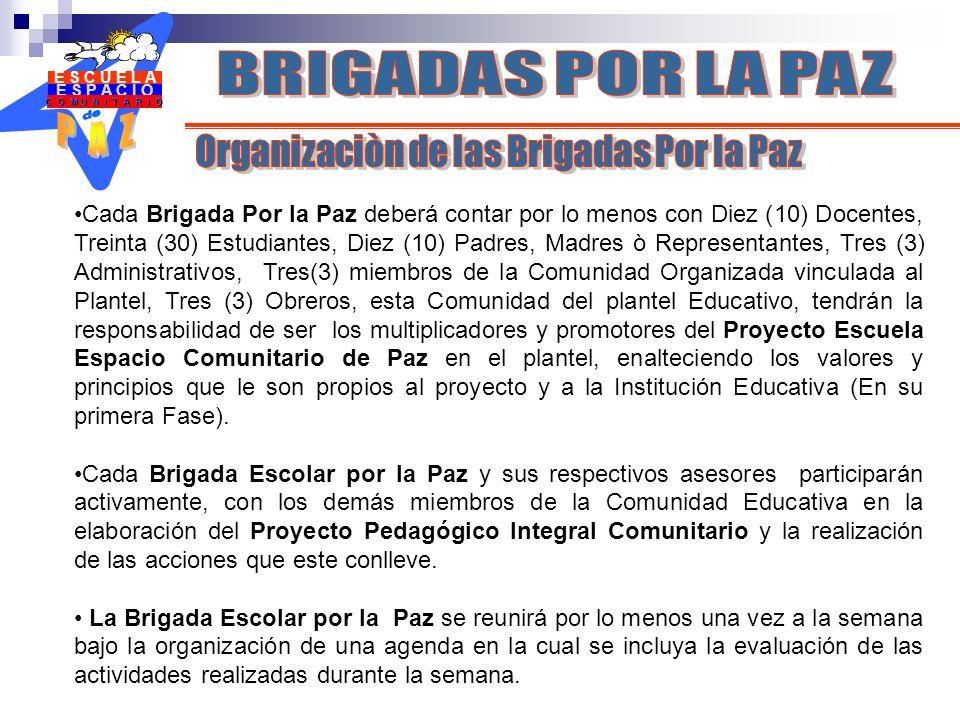 Organizaciòn de las Brigadas Por la Paz