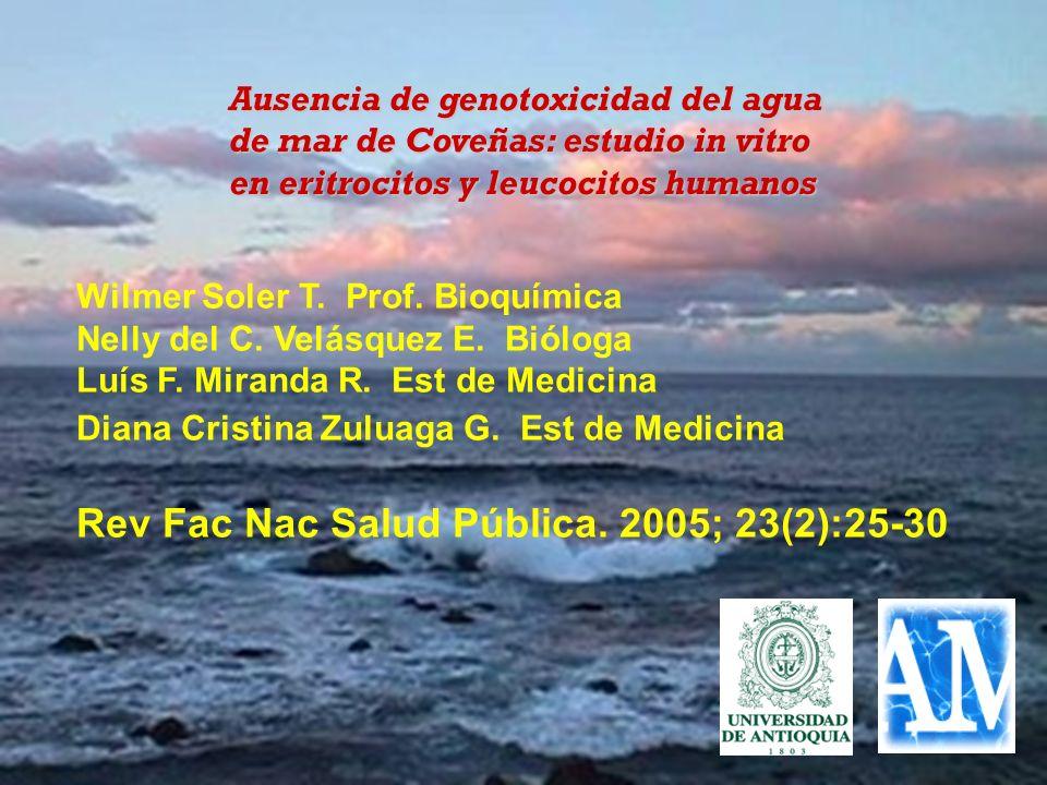 Rev Fac Nac Salud Pública. 2005; 23(2):25-30