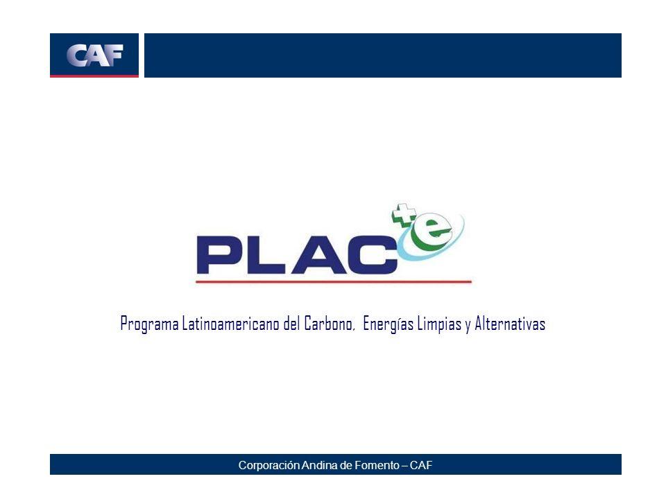 Programa Latinoamericano del Carbono, Energías Limpias y Alternativas