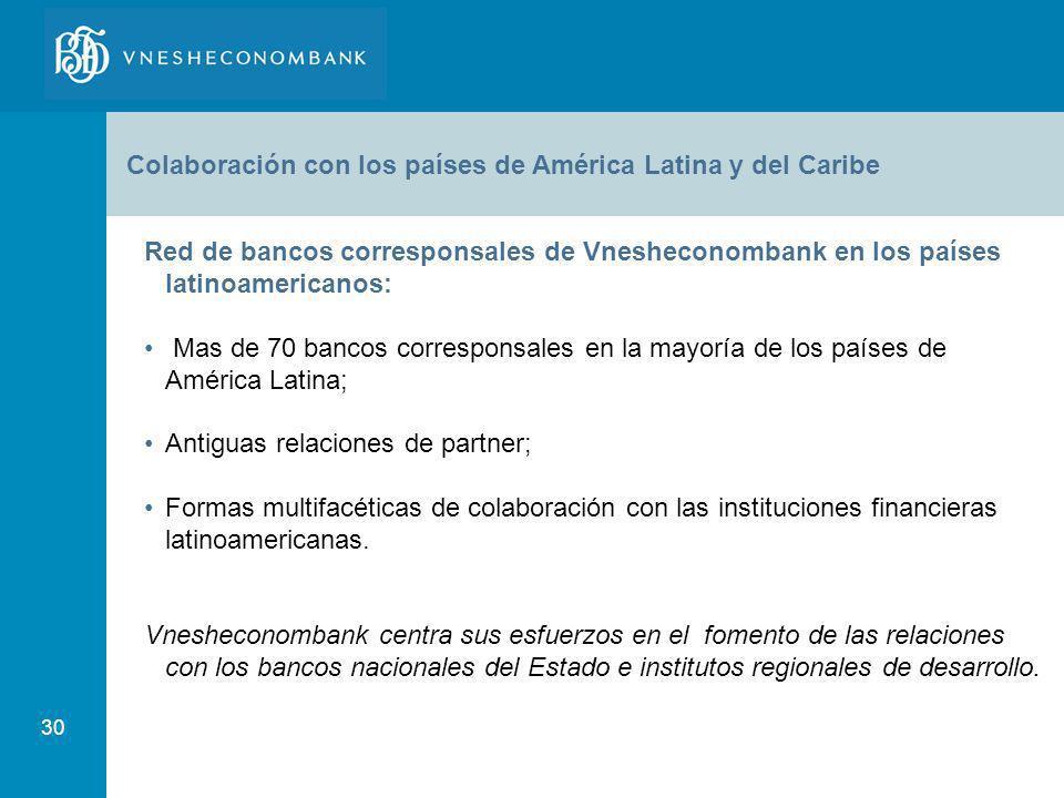 Colaboración con los países de América Latina y del Caribe