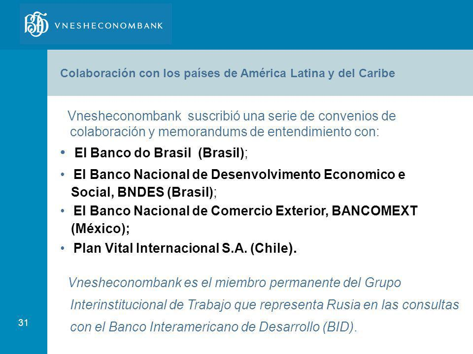 El Banco do Brasil (Brasil);
