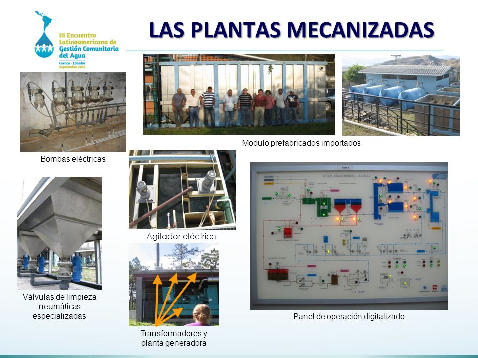 LAS PLANTAS MECANIZADAS