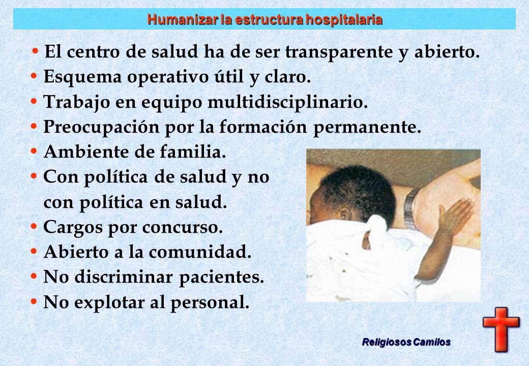 Humanizar la estructura hospitalaria