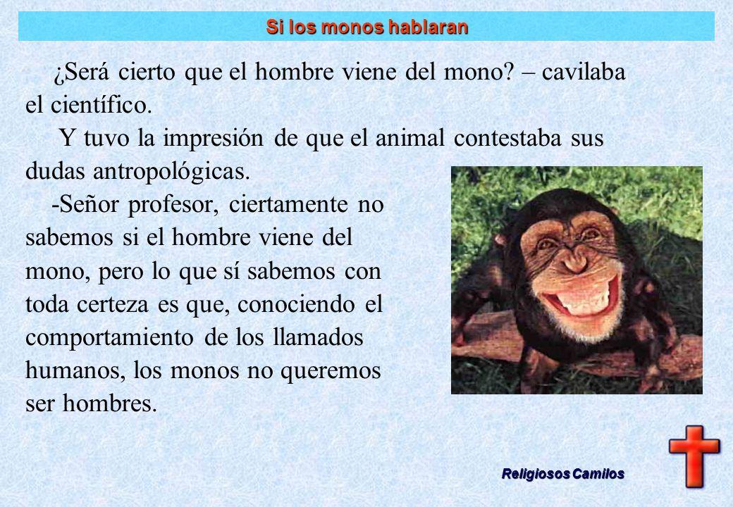Si los monos hablaran