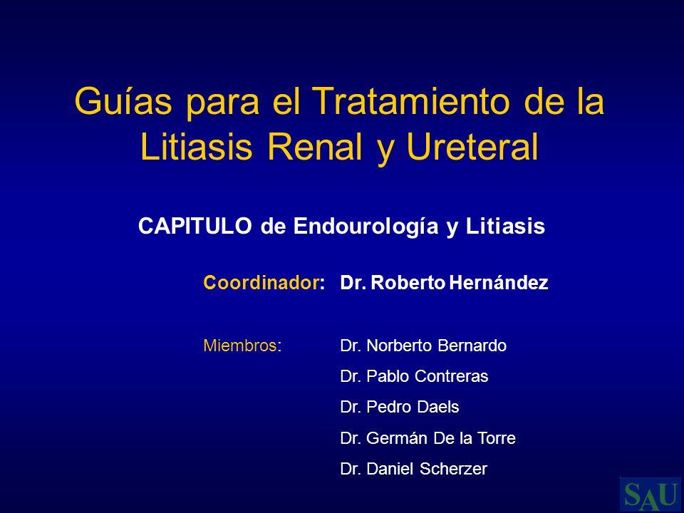 CAPITULO de Endourología y Litiasis