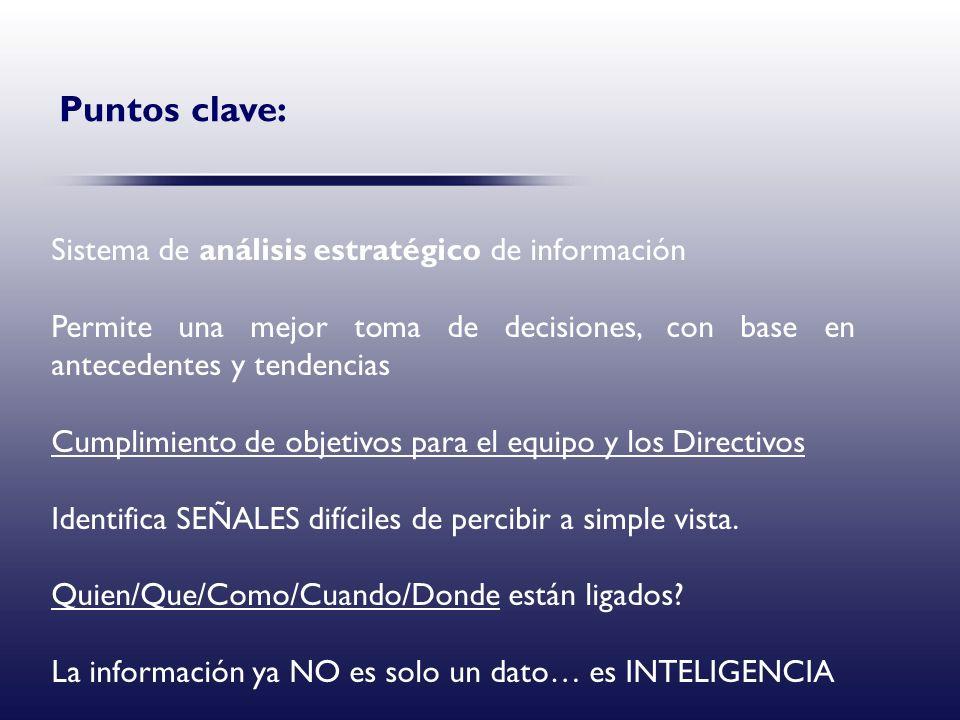 Puntos clave: Sistema de análisis estratégico de información