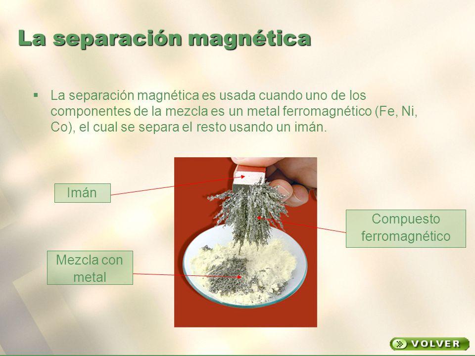 La separación magnética