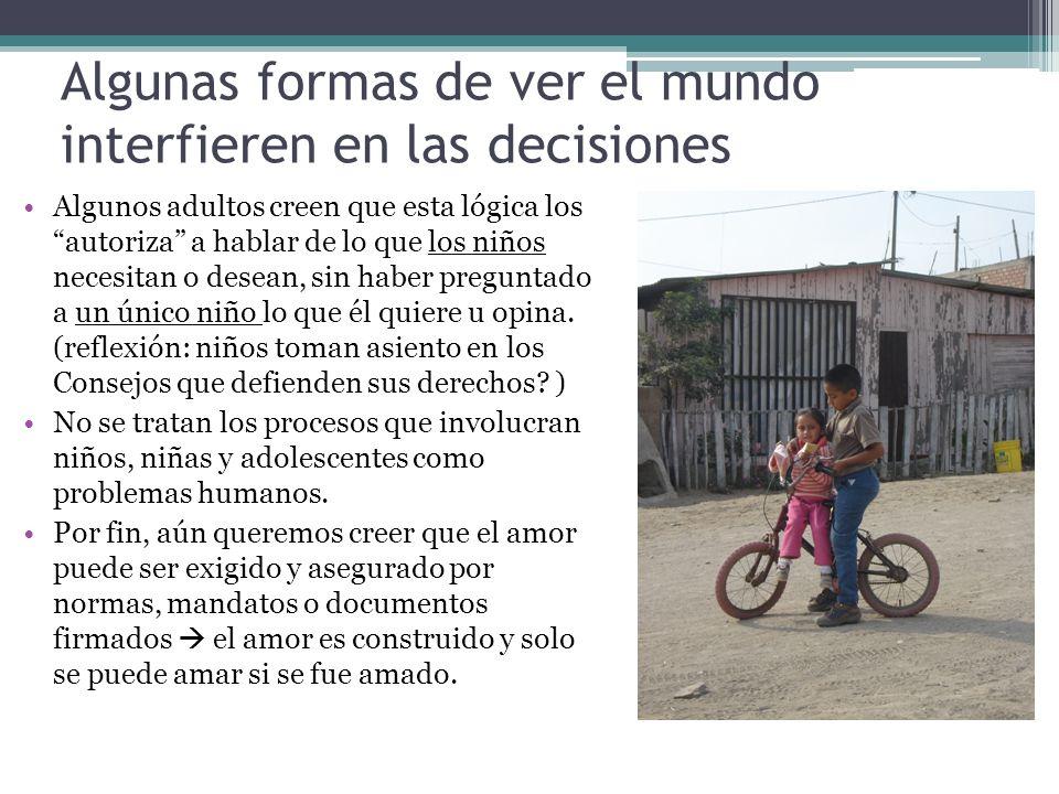 Algunas formas de ver el mundo interfieren en las decisiones