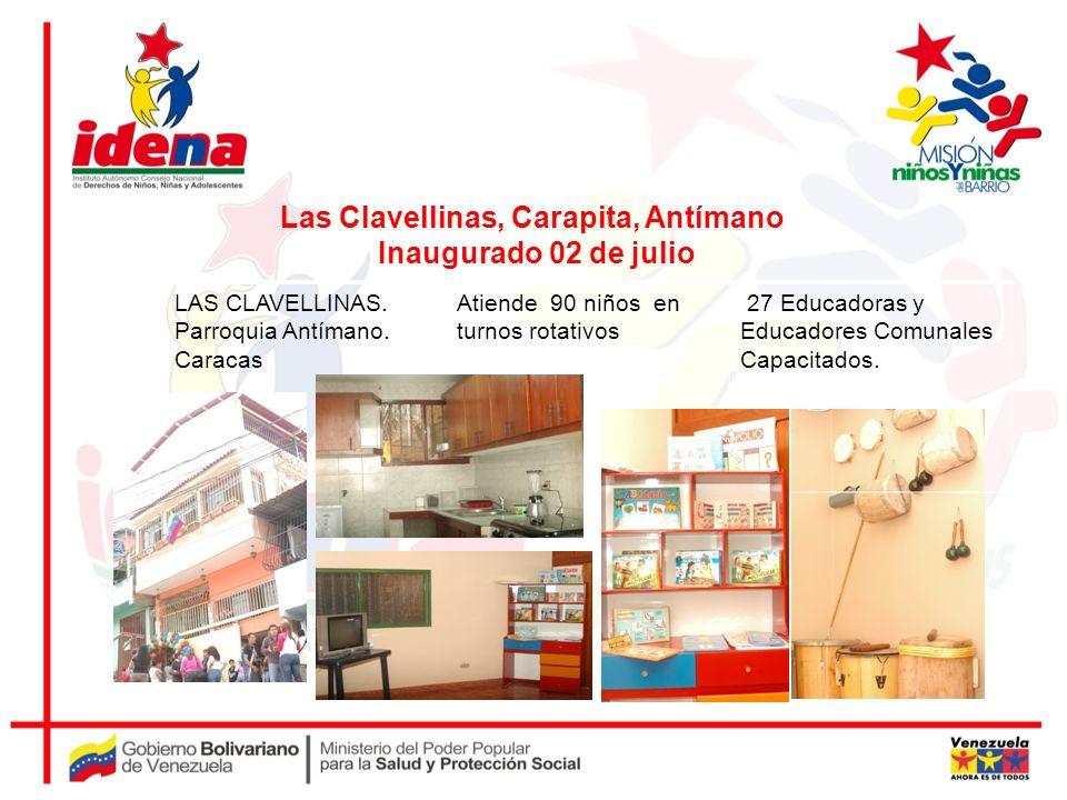 Las Clavellinas, Carapita, Antímano