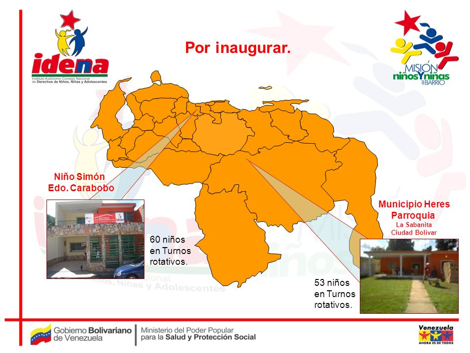 Por inaugurar. Niño Simón Edo. Carabobo Municipio Heres Parroquia