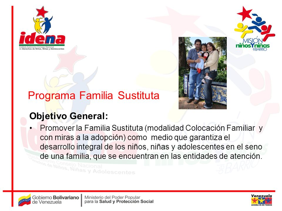 Programa Familia Sustituta