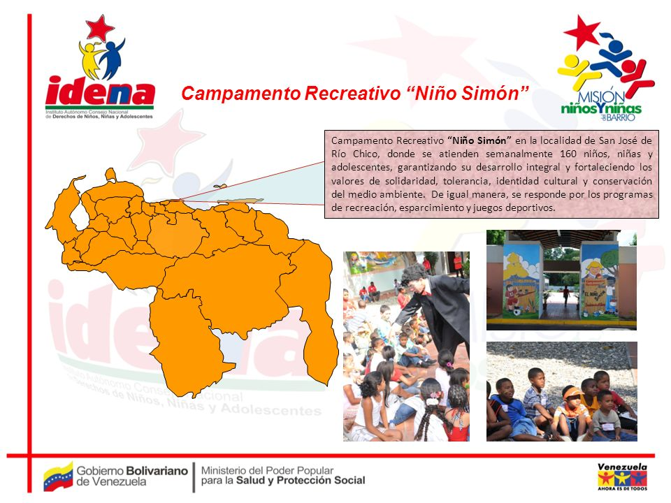 Campamento Recreativo Niño Simón
