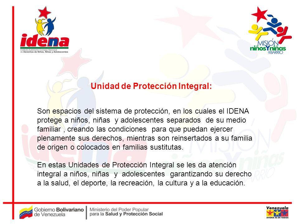 Unidad de Protección Integral: