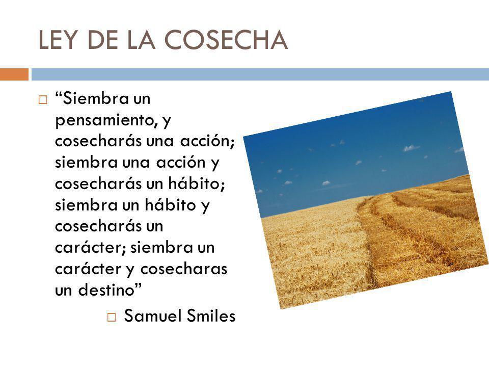 LEY DE LA COSECHA