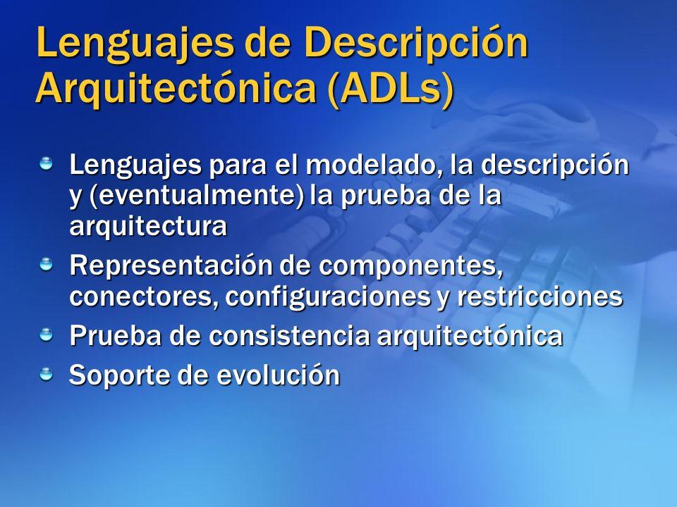 Lenguajes de Descripción Arquitectónica (ADLs)