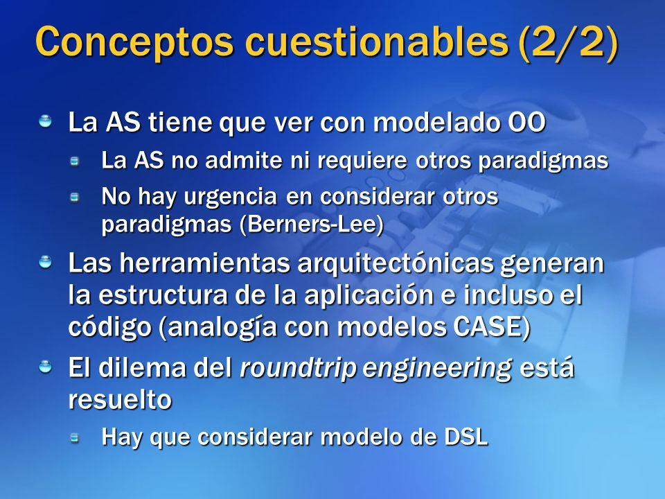 Conceptos cuestionables (2/2)