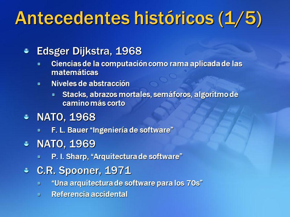 Antecedentes históricos (1/5)