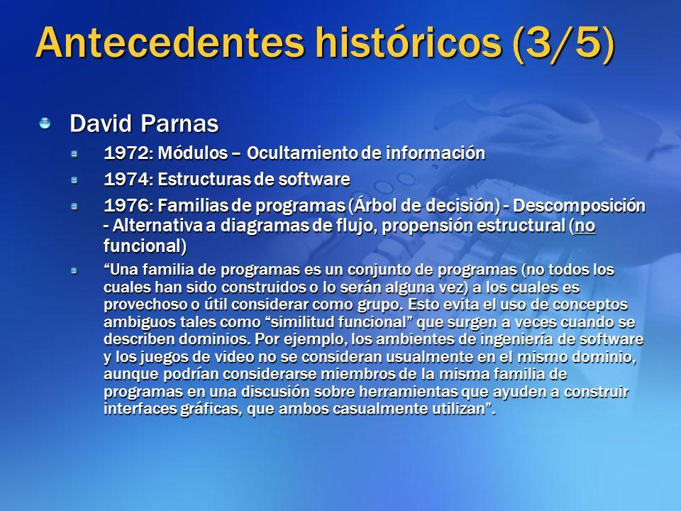 Antecedentes históricos (3/5)