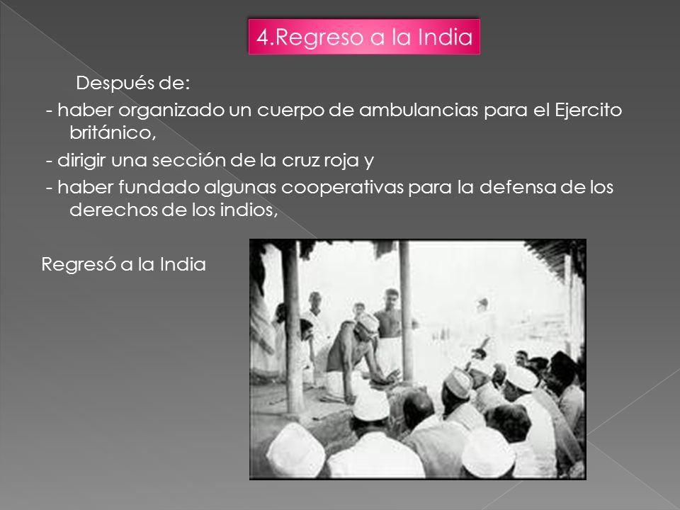 4.Regreso a la India