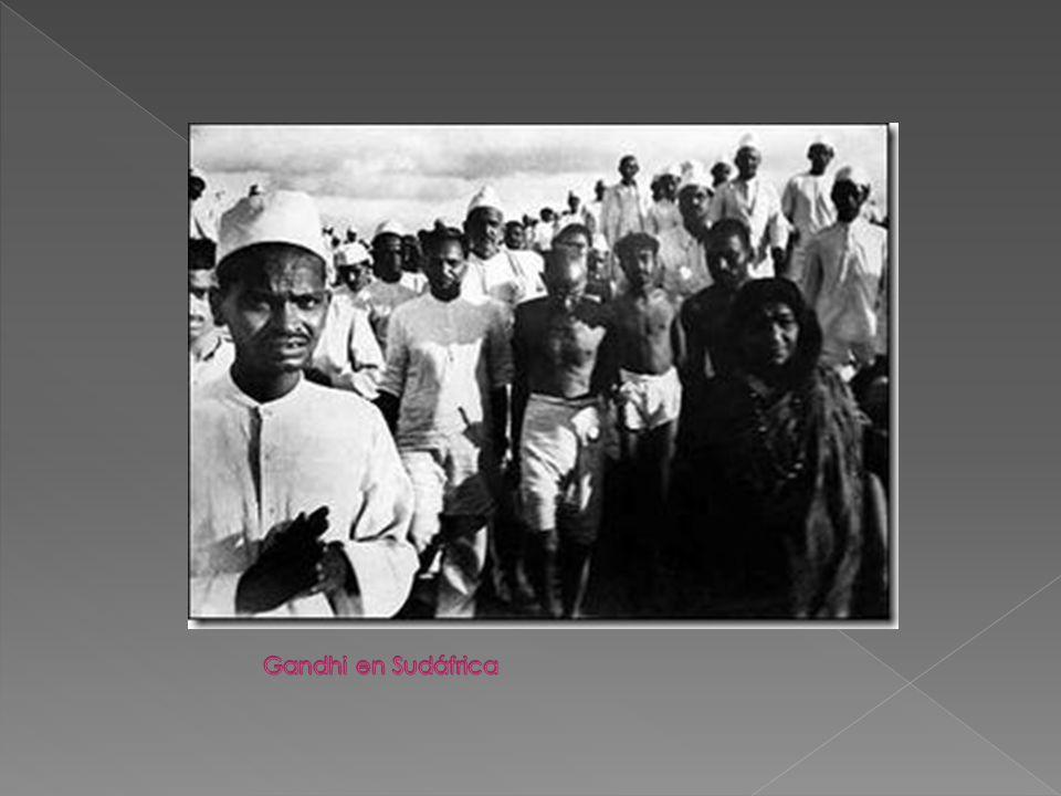 Gandhi en Sudáfrica