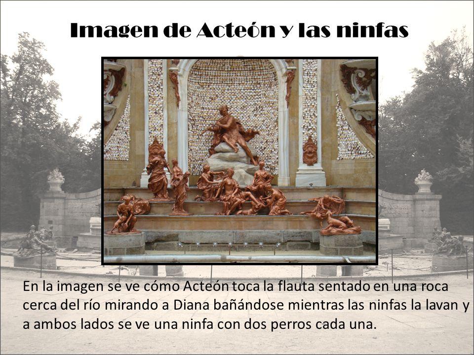 Imagen de Acteón y las ninfas