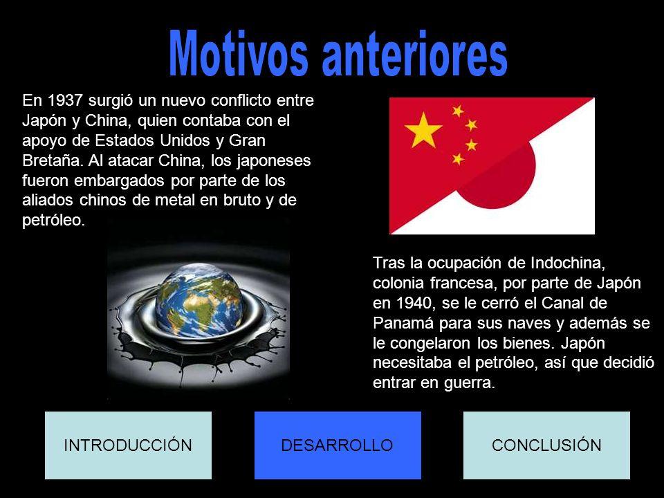 Motivos anteriores