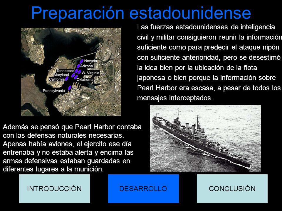 Preparación estadounidense