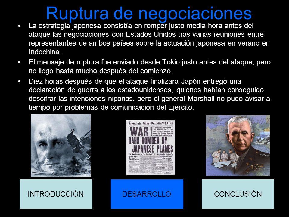 Ruptura de negociaciones