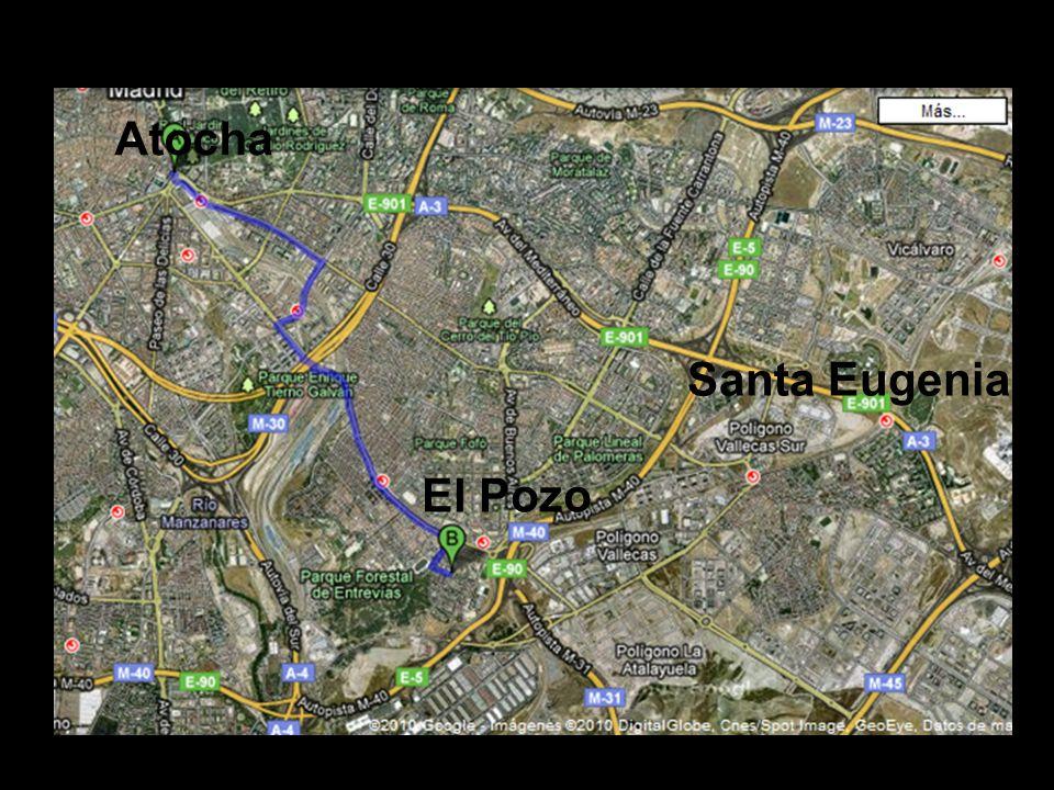 Atocha Santa Eugenia El Pozo