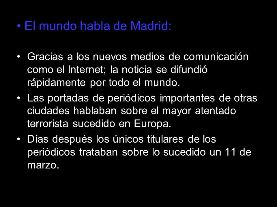 El mundo habla de Madrid: