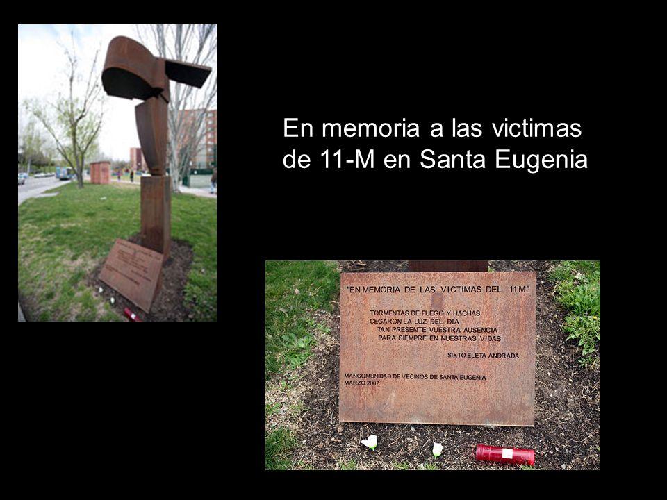 En memoria a las victimas