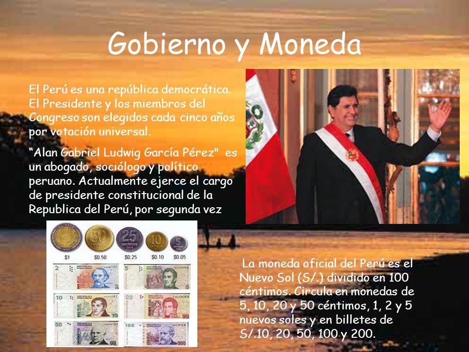 Gobierno y Moneda
