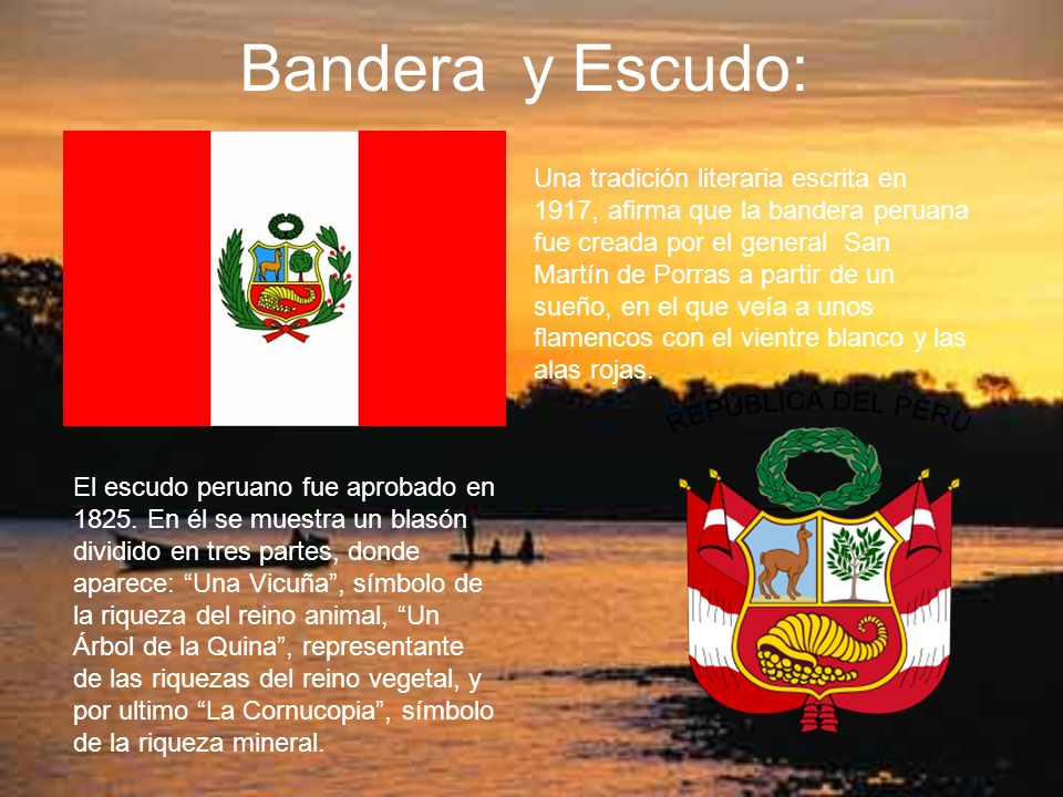 Bandera y Escudo: